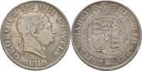 Halfcrown 1819 Großbritannien George III., 1760-1820 f.ss/ss  75,00 EUR  zzgl. 3,00 EUR Versand