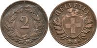 2 Rappen 1909 Schweiz  ss  5,00 EUR  zzgl. 3,00 EUR Versand