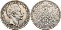 3 Mark 1908 Preussen Berlin Wilhelm II., 1888-1918 ss  15,00 EUR  zzgl. 3,00 EUR Versand