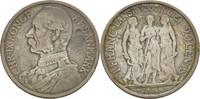 1 Franc 20 Cents 1905 Dänisch Westindien Christian IX., 1863-1906 ss-  100,00 EUR  zzgl. 3,00 EUR Versand
