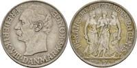 1 Franc 20 Cents 1907 Dänisch Westindien Frederik VIII., 1906-1912 Krat... 125,00 EUR  zzgl. 3,00 EUR Versand
