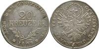 20 Kreuzer 1809 Austria Tirol Hall Andreas Hofer kl. Schrötlingsfehler,... 85,00 EUR  zzgl. 3,00 EUR Versand