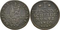 Pfennig 1750 Goslar, Stadt  ss  17,00 EUR  zzgl. 3,00 EUR Versand