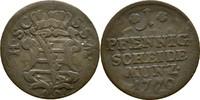 Pfennig 1770 Sachsen Coburg Saalfeld Ernst Friedrich, 1764-1800 ss  15,00 EUR  zzgl. 3,00 EUR Versand