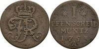 Pfennig 1753 Preussen Berlin Friedrich II., 1740-1786 ss  10,00 EUR  zzgl. 3,00 EUR Versand