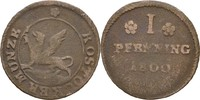 Pfennig 1800 Rostock  fss  10,00 EUR  zzgl. 3,00 EUR Versand