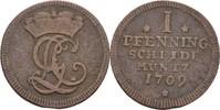 Pfennig 1709 Braunschweig Calenberg Hannover Georg I. Ludwig, 1698-1727... 25,00 EUR  zzgl. 3,00 EUR Versand
