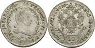 10 Kreuzer 1810 Austria Habsburg Wien Franz II./I., 1792-1835 ss/ss+  175,00 EUR  zzgl. 3,00 EUR Versand