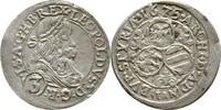 3 Kreuzer 1675 RDR Steiermark Graz Leopold I., 1657-1705. ss  95,00 EUR  zzgl. 3,00 EUR Versand