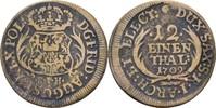 Fälschung eines 1/12 Taler aus der Zeit 1709 Sachsen Friedrich August I... 75,00 EUR  zzgl. 3,00 EUR Versand