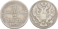 30 Kopeken = 2 Zlote 1835 Russland Polen Warschau Nikolaus I., 1825-185... 35,00 EUR  zzgl. 3,00 EUR Versand
