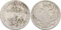 15 Kopeken = Zloty 1839 Russland Polen Warschau Nikolaus I., 1825-1855.... 75,00 EUR  zzgl. 3,00 EUR Versand