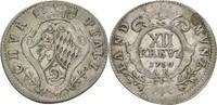 XII Kreuzer 1750 Pfalz kurlinie Heidelberg Karl Theodor, 1743-1799 ss  175,00 EUR  zzgl. 3,00 EUR Versand
