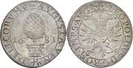 2 Kreuzer 1681 Augsburg, Stadt  Prägeschwächen, vz  95,00 EUR  zzgl. 3,00 EUR Versand