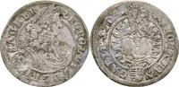 3 Kreuzer 1704 RDR Habsburg Ungarn Leopold I., 1657 - 1705. kl. Bohrver... 185,00 EUR  zzgl. 3,00 EUR Versand
