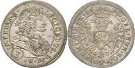 3 Kreuzer 1698 RDR Böhmen Kuttenberg Leopold I., 1657 - 1705. vz  150,00 EUR  zzgl. 3,00 EUR Versand