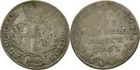 5 Kreuzer 1763 Bistum Fulda Heinrich VIII. von Bibra 1759-1788 f.ss  30,00 EUR  zzgl. 3,00 EUR Versand