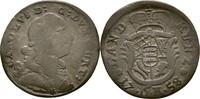 6 Kreuzer 1758 Württemberg Karl Eugen, 1744-1793 f.ss/ss  35,00 EUR  plus 3,00 EUR verzending