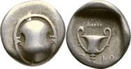 Hemidrachme 395-340 Böotien Böotischer Bund  ss  95,00 EUR  zzgl. 3,00 EUR Versand