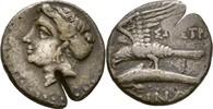 Drachme 330-300 Paphlagonien Sinope  Prüfhieb, ss  150,00 EUR  zzgl. 3,00 EUR Versand