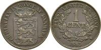 1 Cent 1883 Dänisch Westindien Christian IX., 1863-1906 ss  20,00 EUR  zzgl. 3,00 EUR Versand