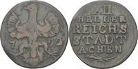 XII Heller 1792 Aachen, Stadt  ss  20,00 EUR  zzgl. 3,00 EUR Versand