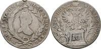 10 Kreuzer 1765 RDR Böhmen Prag Maria Theresia, 1740-1780 Henkelspur, f... 11,00 EUR  zzgl. 3,00 EUR Versand