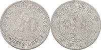 20 Cents 1920 China - Kwang Tung Province  ss-  15,00 EUR  zzgl. 3,00 EUR Versand