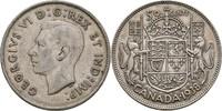 50 Cents 1938 Kanada George VI., 1936-52 ss-/ss  12,00 EUR  zzgl. 3,00 EUR Versand