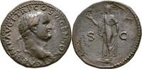 As 77-78 RÖMISCHE KAISERZEIT Titus Caesar (69-79) ss  185,00 EUR  zzgl. 3,00 EUR Versand
