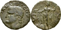 As 37-41 RÖMISCHE KAISERZEIT Agrippa (gest. 12 v. Chr.) beschnitten, ss  75,00 EUR  zzgl. 3,00 EUR Versand