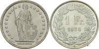 1 Franken 1939 B Schweiz  fast Stempelglanz  9,00 EUR  zzgl. 3,00 EUR Versand