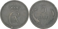 5 Öre 1874 CS Dänemark Christian IX., 1863-1906 ss, kl. Randfehler  15,00 EUR  zzgl. 3,00 EUR Versand