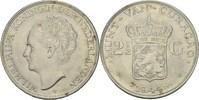 2 1/2 Gulden 1944 D NL Curacao Wilhelmina, 1890-1948 vz+  30,00 EUR  zzgl. 3,00 EUR Versand
