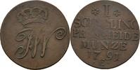 Schilling 1791 Preussen Königsberg Friedrich Wilhelm II., 1786-1797 Prä... 14,00 EUR  zzgl. 3,00 EUR Versand