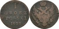 Grosz 1832 Polen Russland Warschau FSK5 Nikolaus I., 1825-1855 fss  18,00 EUR  zzgl. 3,00 EUR Versand