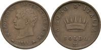 Soldo 1811 Italien Milano FSK6 Napoleon I., 1804-1814 ss  20,00 EUR  zzgl. 3,00 EUR Versand