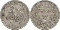 Peso 1933 Chile FSK8  f.vz  10,00 EUR  zzgl. 3,00 EUR Versand