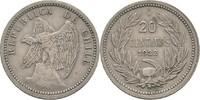 20 Centavos 1932 Chile FSK9  ss  10,00 EUR  zzgl. 3,00 EUR Versand
