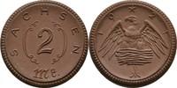 2 Mark 1921 Sachsen  vz  5,00 EUR  zzgl. 3,00 EUR Versand