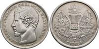 Peso 1870 Guatemala  gereinigt, ss  80,00 EUR  zzgl. 3,00 EUR Versand