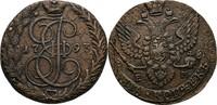 5 Kopeke 1793 Russland Ekaterinburg Katharina II., 1762-1796 ss+  55,00 EUR  zzgl. 3,00 EUR Versand