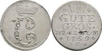 8 Gute Groschen 1759 Braunschweig Wolfenbüttel Karl, 1735-1780 Schrötli... 110,00 EUR  zzgl. 3,00 EUR Versand