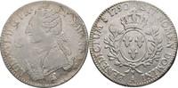 Ecu Laubtaler 1790 Frankreich Paris Ludwig XVI., 1774-1793 Graffitti, fss  60,00 EUR  zzgl. 3,00 EUR Versand