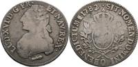 Ecu Laubtaler 1782 Frankreich Perpignan Ludwig XVI., 1774-1793 f.ss  60,00 EUR  zzgl. 3,00 EUR Versand