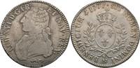 Ecu Laubtaler 1777 Frankreich Aix Ludwig XVI., 1774-1793 Justiert, ss  110,00 EUR  zzgl. 3,00 EUR Versand