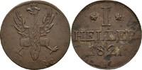 Heller 1821 Frankfurt, Stadt  ss+  11,00 EUR  zzgl. 3,00 EUR Versand