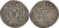 Mariengroschen 1680 Hessen Kassel Schaumburg Karl, 1670-1730 ss  135,00 EUR  zzgl. 3,00 EUR Versand