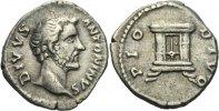 Denar 161 - 180 RÖMISCHE KAISERZEIT Divus Antoninus Pius unter Marc Aur... 100,00 EUR  zzgl. 3,00 EUR Versand