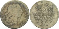 Preussen 1/12 Taler 1767 f.ss Friedrich II., 1740 - 1786. 15,00 EUR inkl. gesetzl. MwSt., zzgl. 1,00 EUR Versand